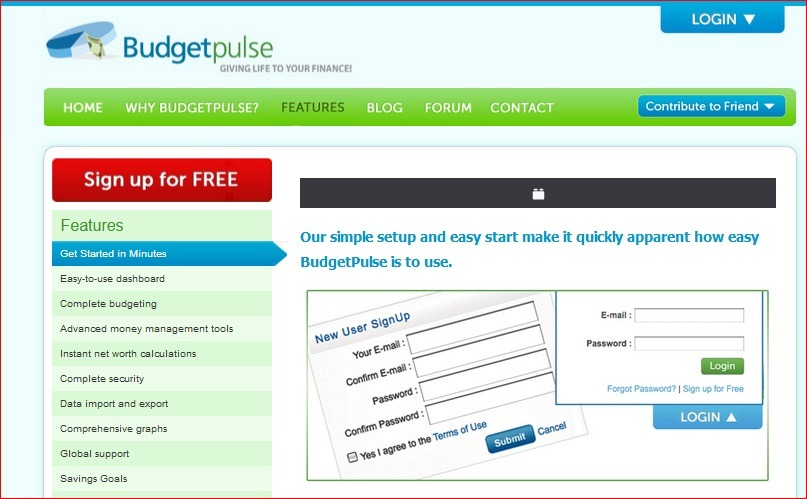 budget pulse software