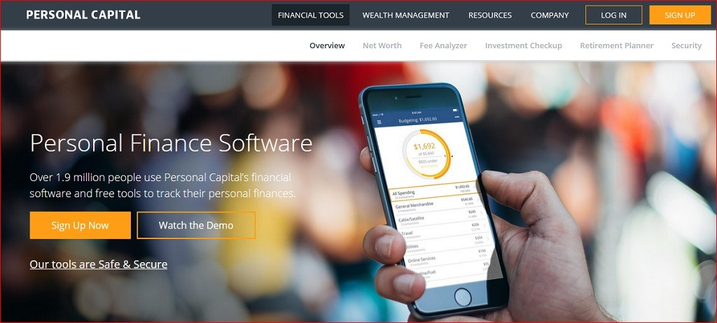 Personal Capital software
