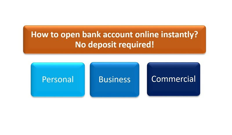 open bank account online free