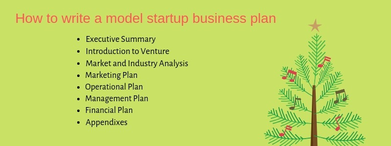 how to write a model startup business plan for making idea live